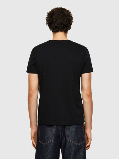 Diesel - T-INY-B1, Negro - Camisetas - Image 2