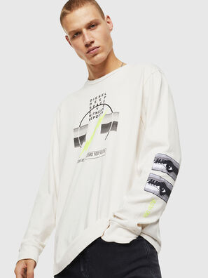 T-JUST-LS-J3, Blanco - Camisetas