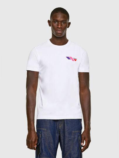Diesel - T-DIEGOS-K11, Blanco - Camisetas - Image 1