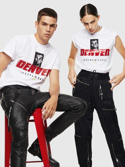 Diesel - LCP-T-DIEGO-DENVER, Blanco - Camisetas - Image 7