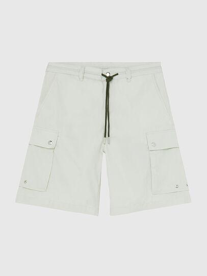 Diesel - P-AIMI-P, Blanco - Shorts - Image 1
