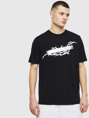 T-JUST-T11, Negro - Camisetas