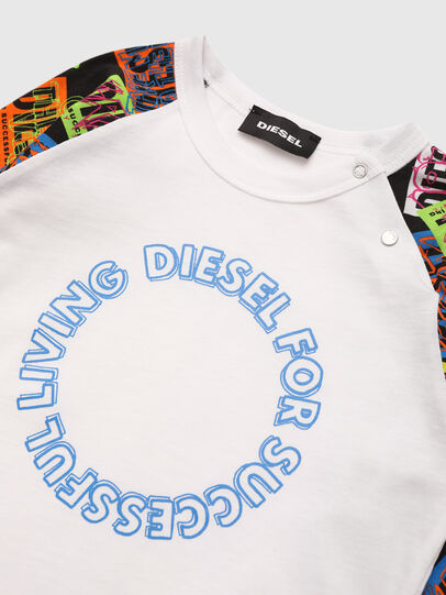 Diesel - TENTYB, Blanco - Camisetas y Tops - Image 3