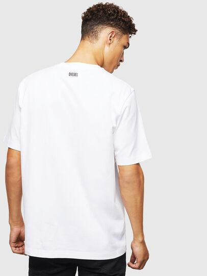 Diesel - T-JUST-J9, Blanco - Camisetas - Image 3