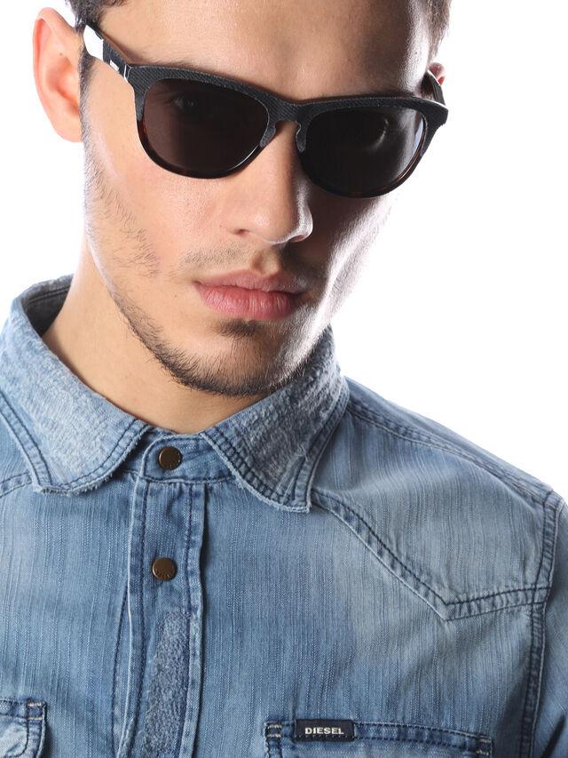 Diesel - DM0192, Azul Oscuro - Gafas de sol - Image 6