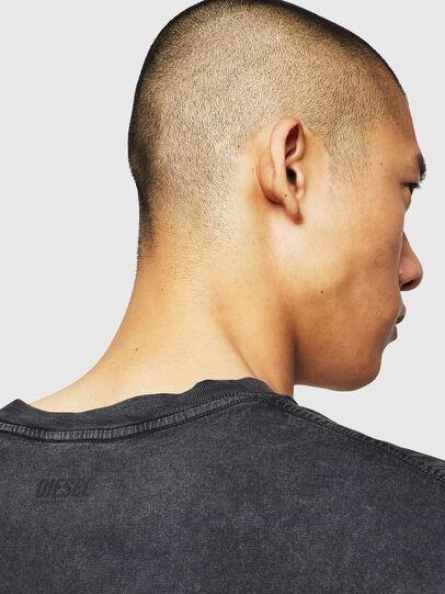 Diesel - T-THEA, Negro - Camisetas - Image 4