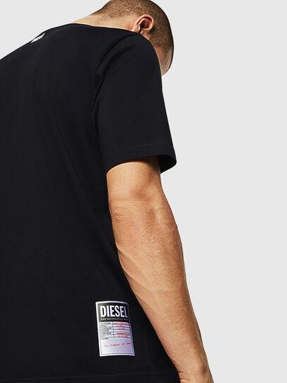Diesel - T-JUST-B28, Negro - Camisetas - Image 3