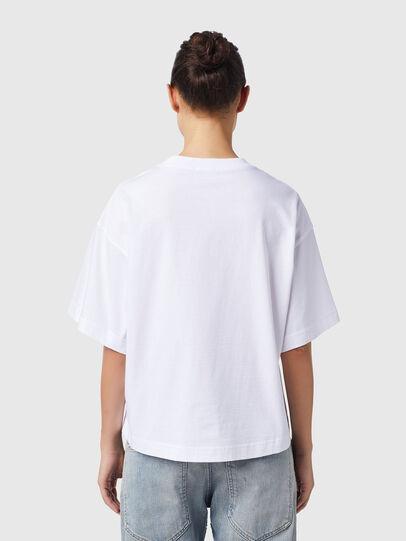Diesel - T-BOWXY-B1, Blanco - Camisetas - Image 2