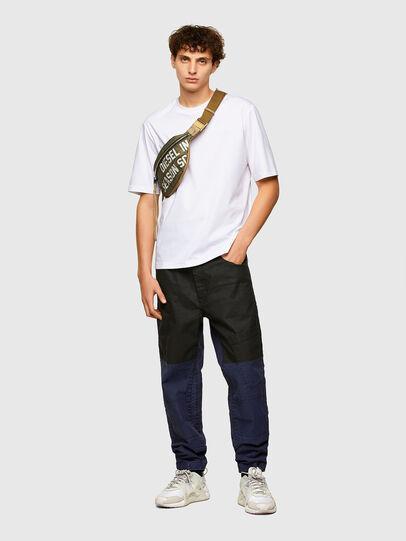 Diesel - T-GORAN-A1, Blanco - Camisetas - Image 4