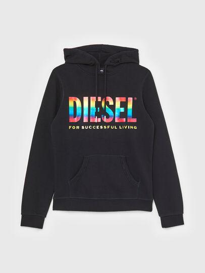 Diesel - UFLT-BRANDALWZ-P, Negro - Sudaderas - Image 1