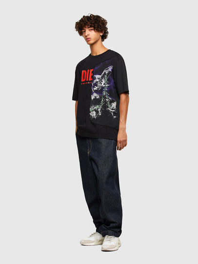 Diesel - T-BLAST, Negro - Camisetas - Image 4