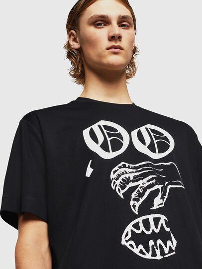 Diesel - TEORIALE-X2, Negro - Camisetas - Image 4