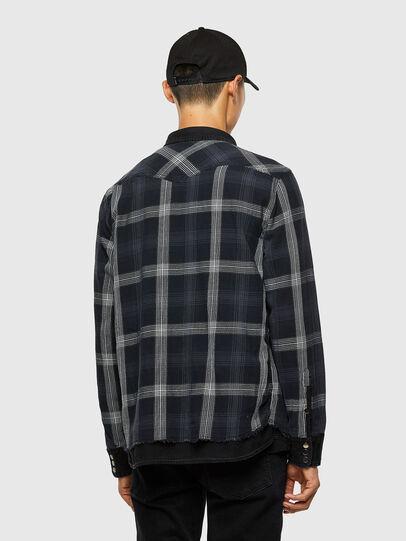 Diesel - D-WEAR-B1, Negro - Camisas de Denim - Image 5