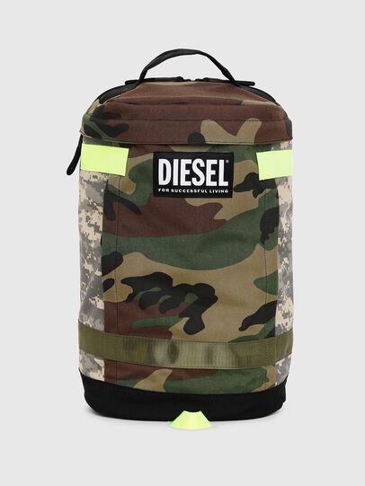 Diesel - PIEVE, Verde Camuflaje - Mochilas - Image 1
