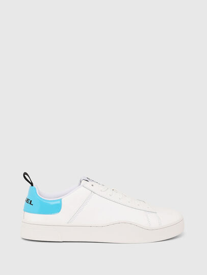 Diesel - S-CLEVER LOW LACE, Blanco/Azul - Sneakers - Image 1