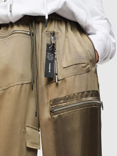 Diesel - P-LEX, Verde Militar - Pantalones - Image 3