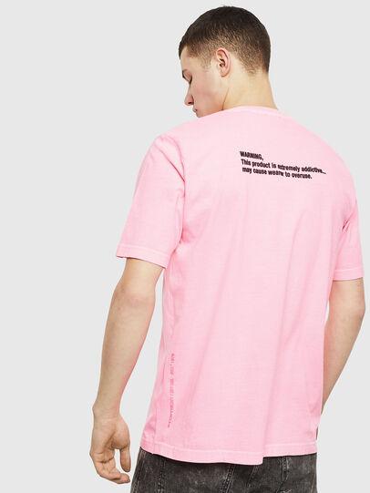 Diesel - T-JUST-NEON, Rosa - Camisetas - Image 3