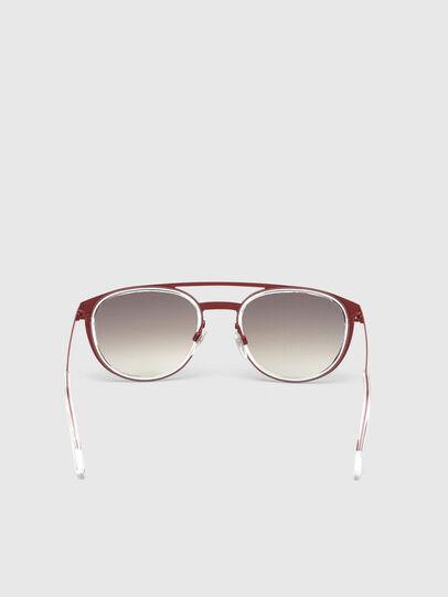 Diesel - DL0293, Rojo/Blanco - Gafas de sol - Image 4