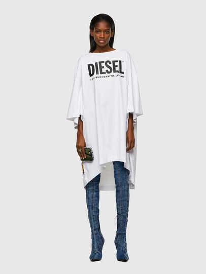 Diesel - D-EXTRA-ECOLOGO, Blanco - Vestidos - Image 1