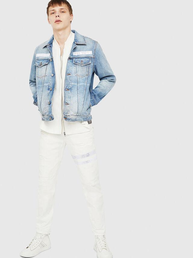Diesel - NHILL-TM, Blue Jeans - Chaquetas de denim - Image 5