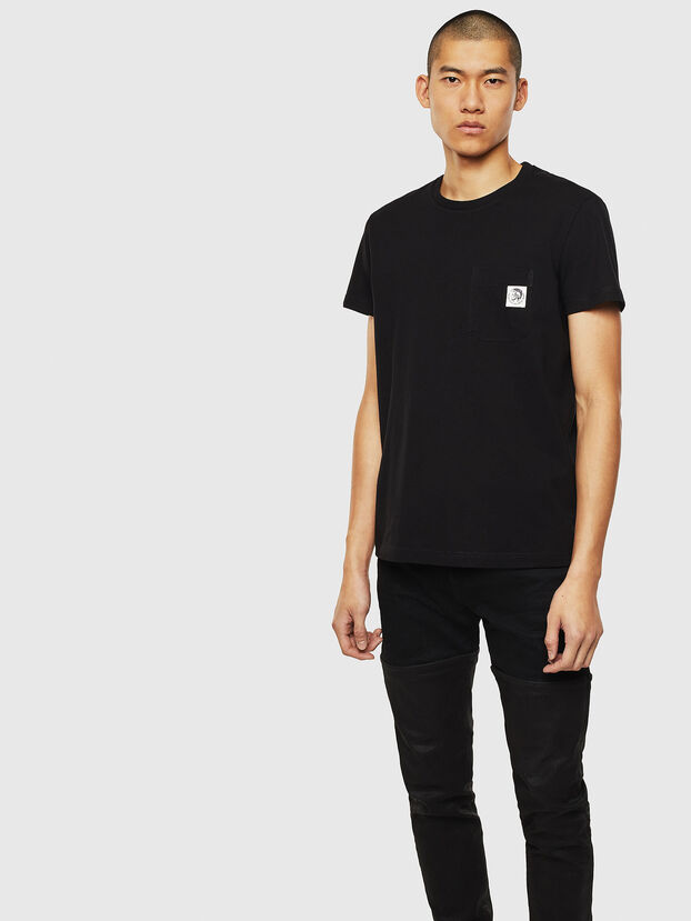 T-WORKY-MOHI, Negro - Camisetas