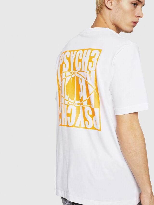 Diesel - T-JUST-Y20, Blanco - Camisetas - Image 2