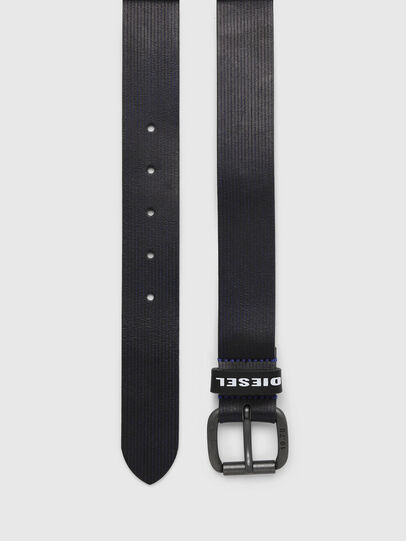 Diesel - B-CAVA, Negro/Azul - Cinturones - Image 3