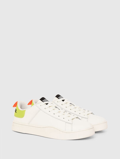 Diesel - S-CLEVER LOW LACE, Blanco/Amarillo - Sneakers - Image 2
