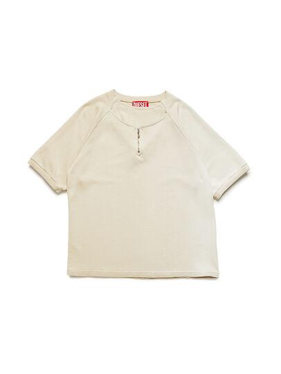 Diesel - GR02-T301, Blanco - Camisetas - Image 1