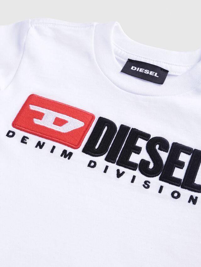 Diesel - TJUSTDIVISIONB, Blanco - Camisetas y Tops - Image 3