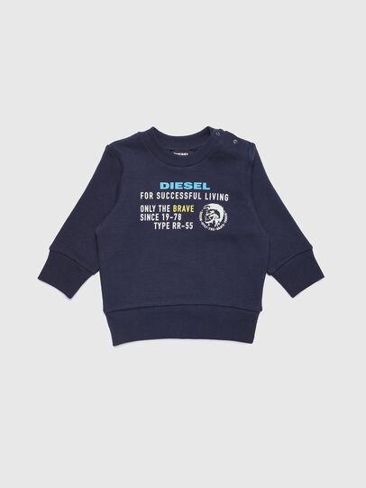 Diesel - SDIEGOXB, Azul Oscuro - Sudaderas - Image 1