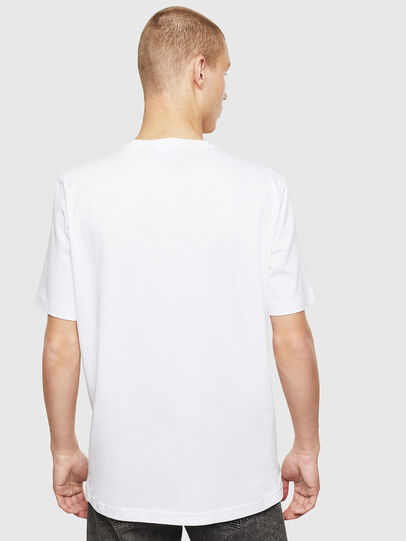 Diesel - T-JUST-T25, Blanco - Camisetas - Image 2
