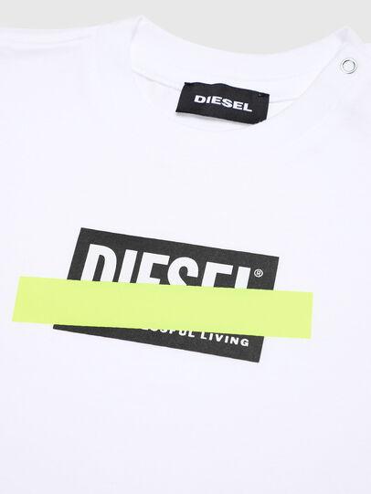 Diesel - TJUSTDIXB, Blanco - Camisetas y Tops - Image 3