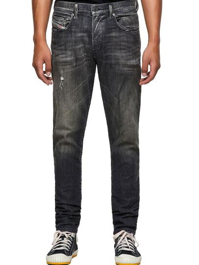 Diesel - D-Strukt JoggJeans® 09B54, Negro/Gris oscuro - Vaqueros - Image 1