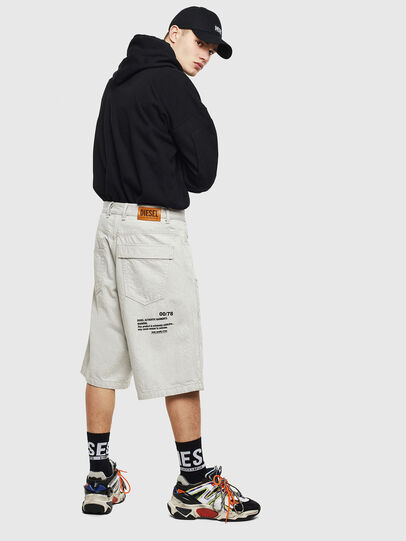 Diesel - D-RON, Blanco - Shorts - Image 4