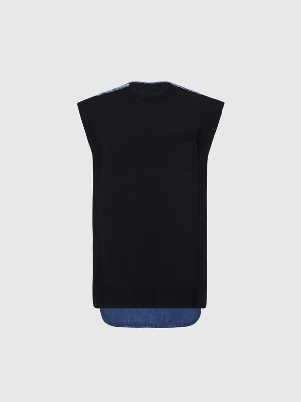 M-BYRNE, Negro/Azul marino - Vestidos