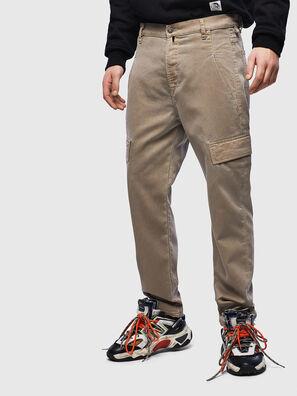 D-Krett JoggJeans 069LX, Beige - Vaqueros