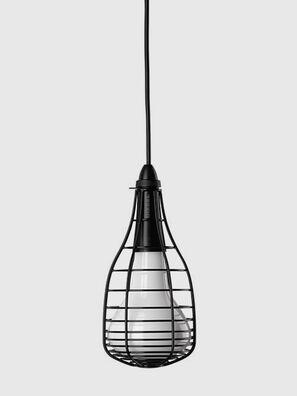 CAGE SOSPENSIONE MIC, Negro - Lámparas de Suspensión
