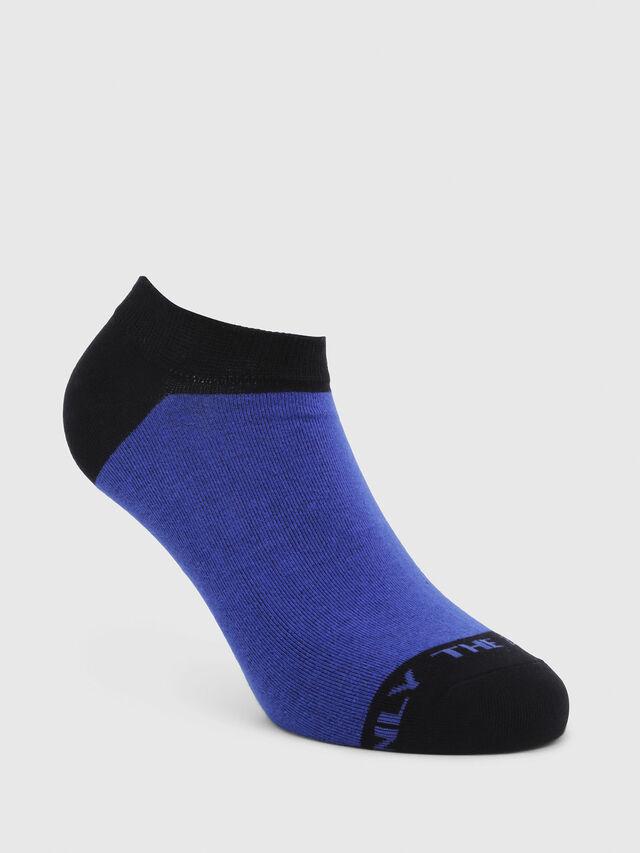 Diesel - SKM-GOST, Azul/Negro - Calcetines cortos - Image 1
