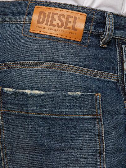 Diesel - D-Franky 009EW, Azul Oscuro - Vaqueros - Image 4