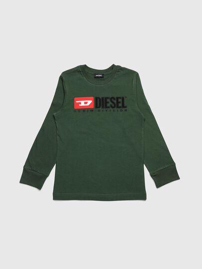 Diesel - TJUSTDIVISION ML, Verde Oscuro - Camisetas y Tops - Image 1