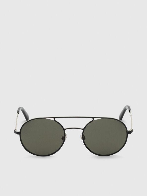 DL0301, Negro/Dorado - Gafas de sol