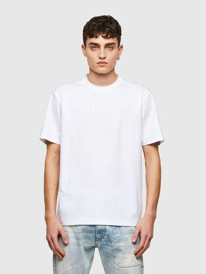 Diesel - T-JUST-E7, Blanco - Camisetas - Image 1