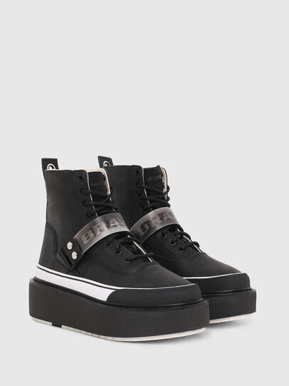 Diesel - H-SCIROCCO STRAP, Negro - Sneakers - Image 2