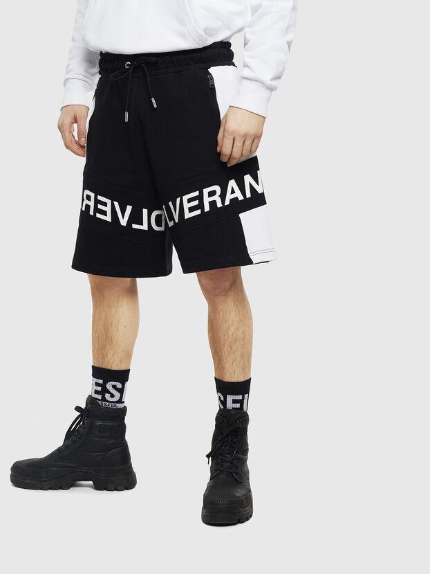 P-SHAM, Negro/Blanco - Shorts