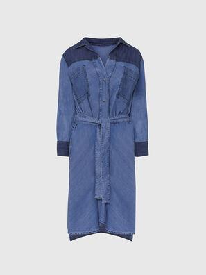 DE-NIAVY, Azul Claro - Vestidos