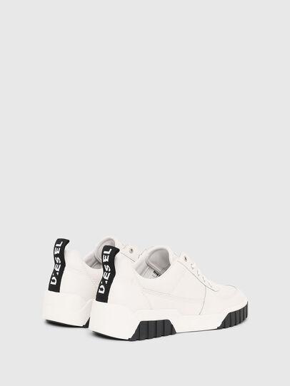 Diesel - S-RUA LOW, Blanco - Sneakers - Image 3