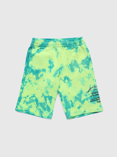 Diesel - PROLLY, Verde Fluo - Shorts - Image 1