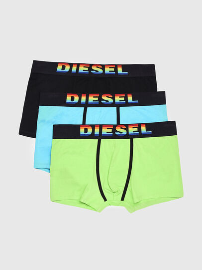 Diesel - UMBX-DAMIENTHREEPACK, Multicolor/Negro - Boxers - Image 1