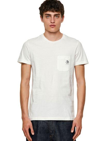 Diesel - T-WORKY-MOHI, Blanco - Camisetas - Image 1